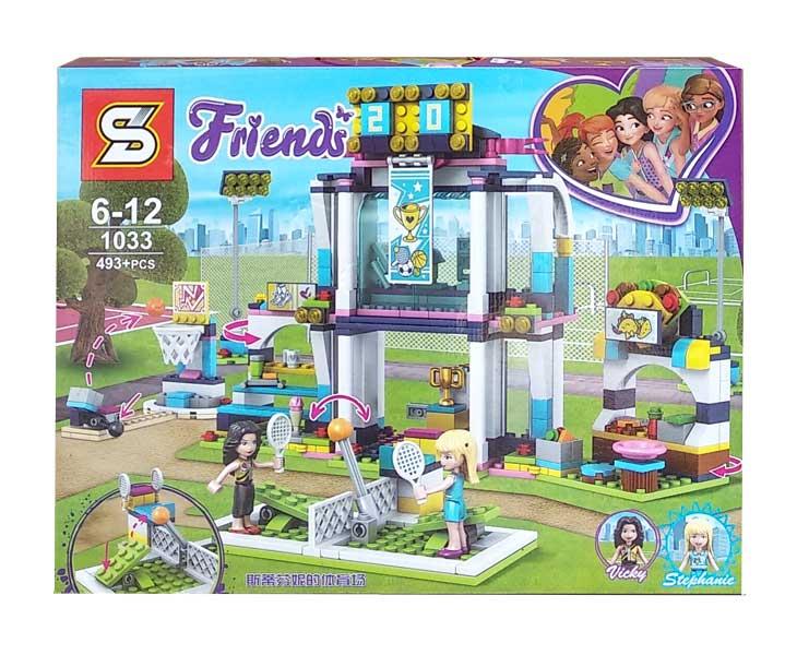 toko mainan online BLOCK FRIENDS VICKY STEPHANIE 493PCS - 1033