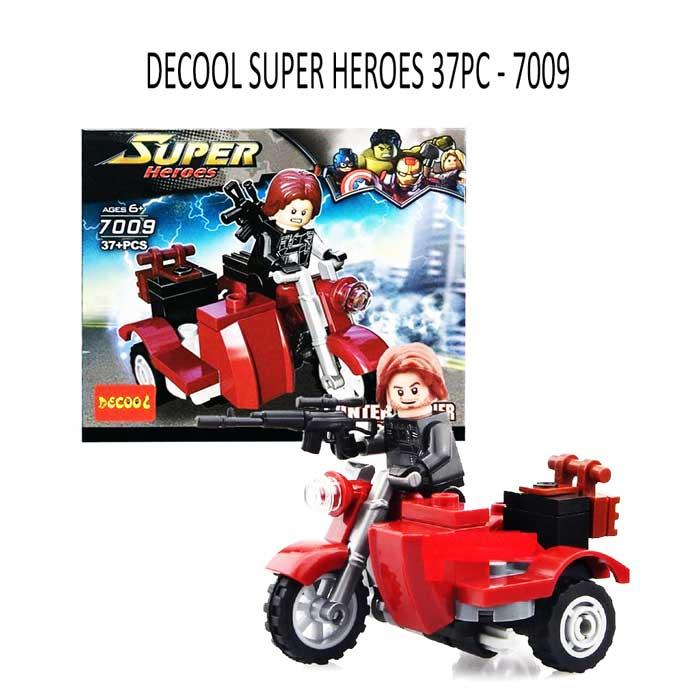 toko mainan online DECOOL SUPER HEROES 37PC - 7009