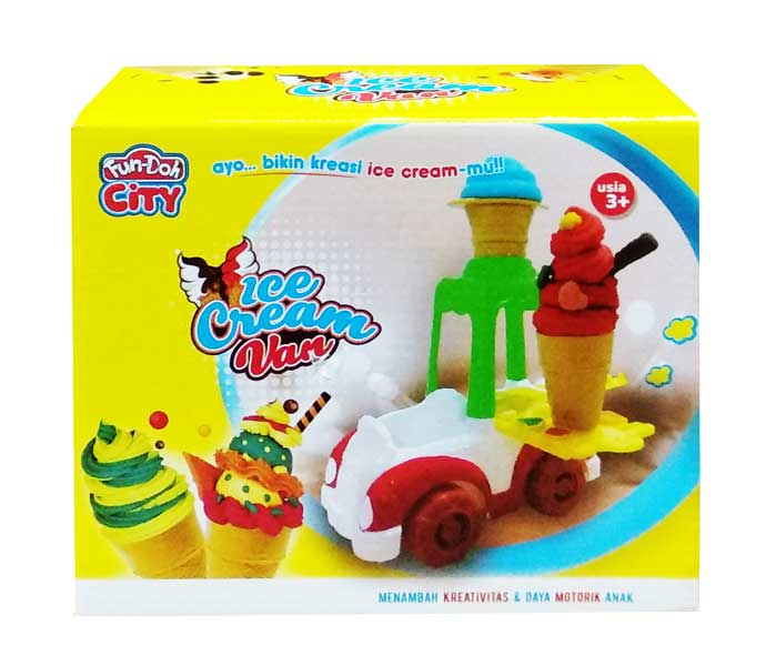 toko mainan online FUN DOH ICE CREAM VAN - 28140