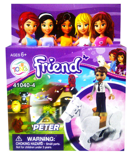 toko mainan online BLOCK FRIEND PETER 41040-4
