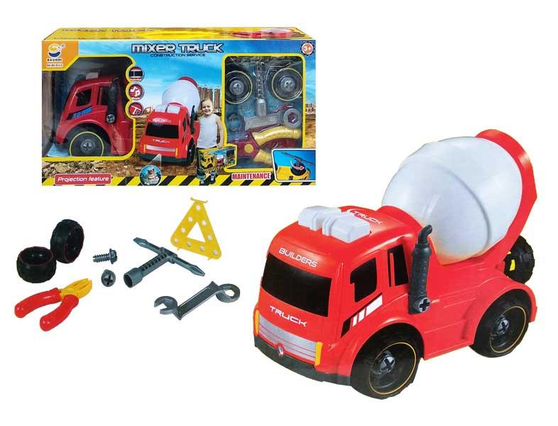 toko mainan online MIXER TRUCK - BS813-2