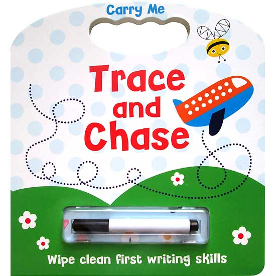 toko mainan online Carry Me Trace and Chase Wipe Clean