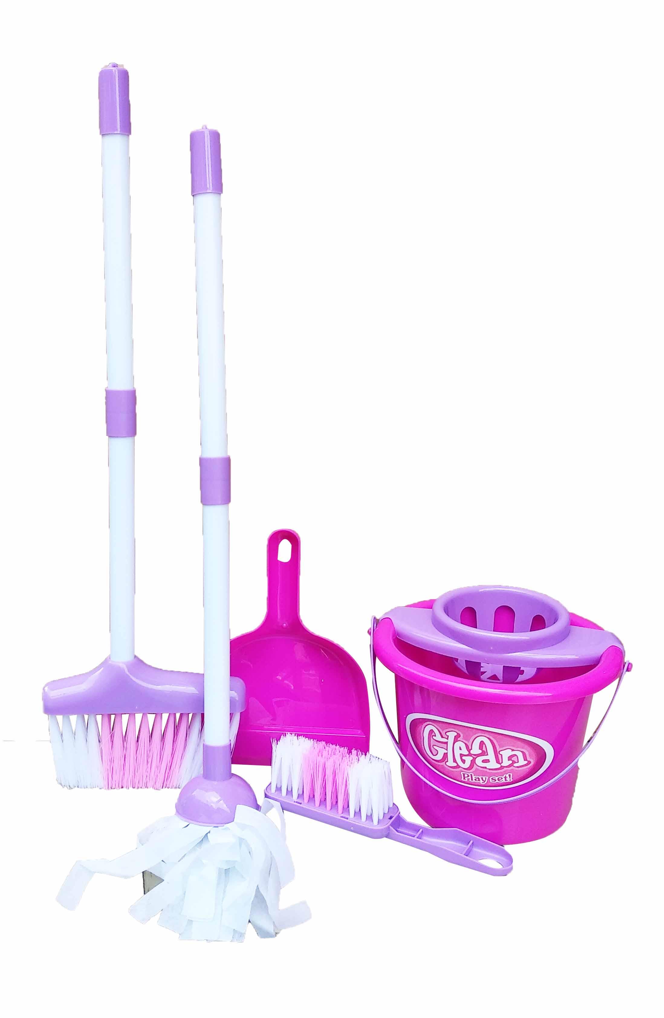 toko mainan online LITTLE HELPER CLEANING PLAY SET - 667-13