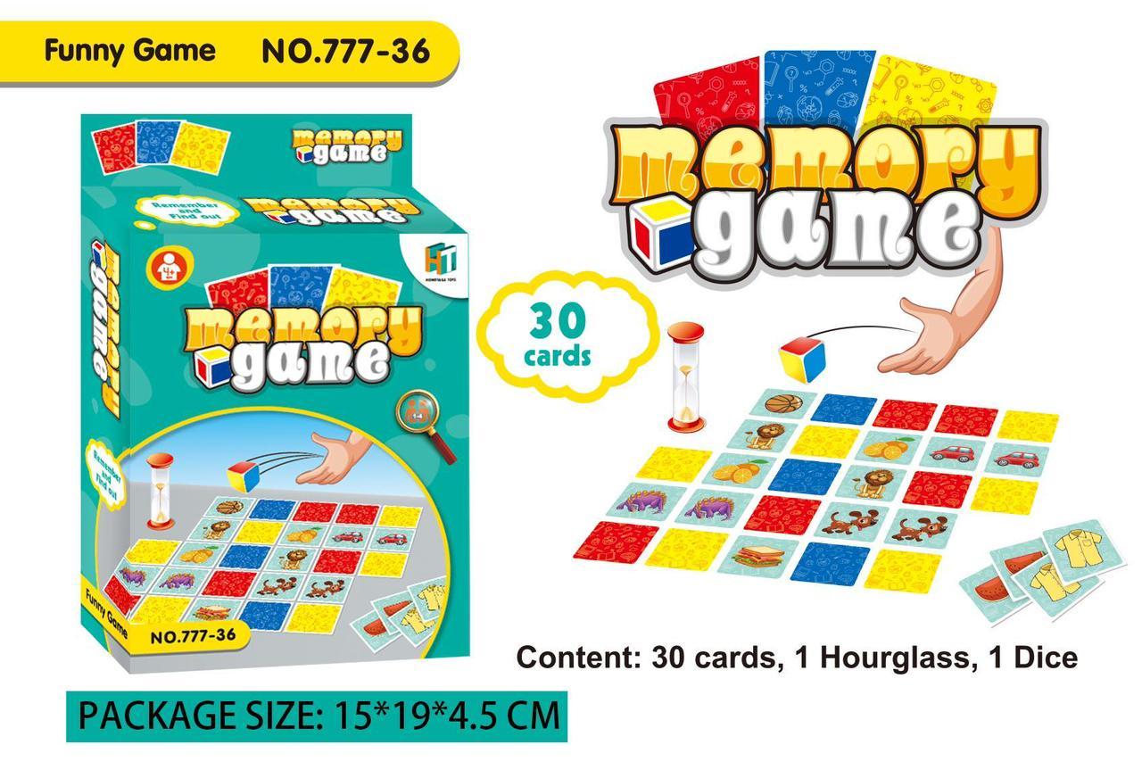 toko mainan online MEMORY GAME - 777-36