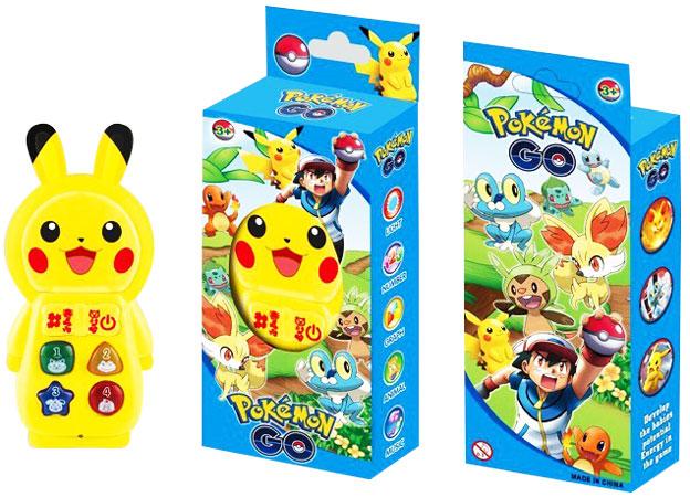 toko mainan online PIKACHU POKEMON GO MOBILE PHONE - ZY-128