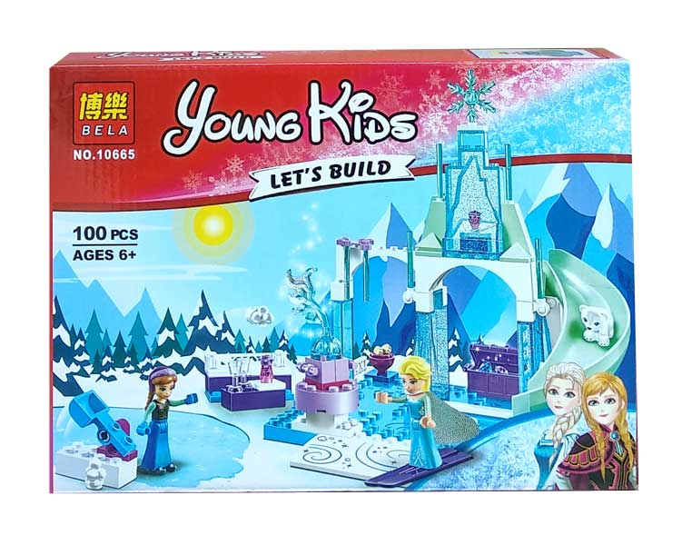 toko mainan online BELA YOUNG KIDS (FROZEN) 100PCS - 10665