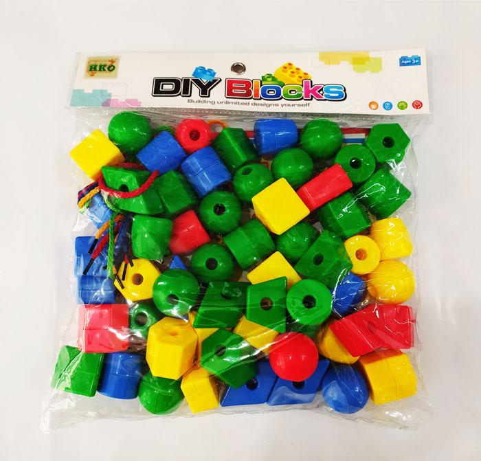 toko mainan online DIY BLOCKS LARGE BEAD - HC-008