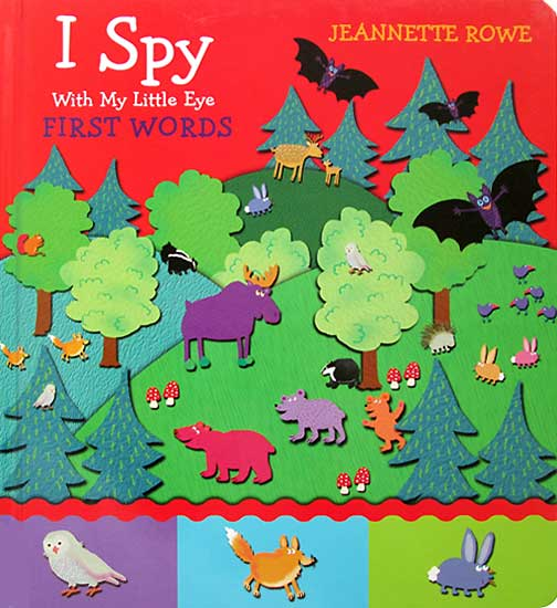 toko mainan online I SPY FIRST WORDS - 464175