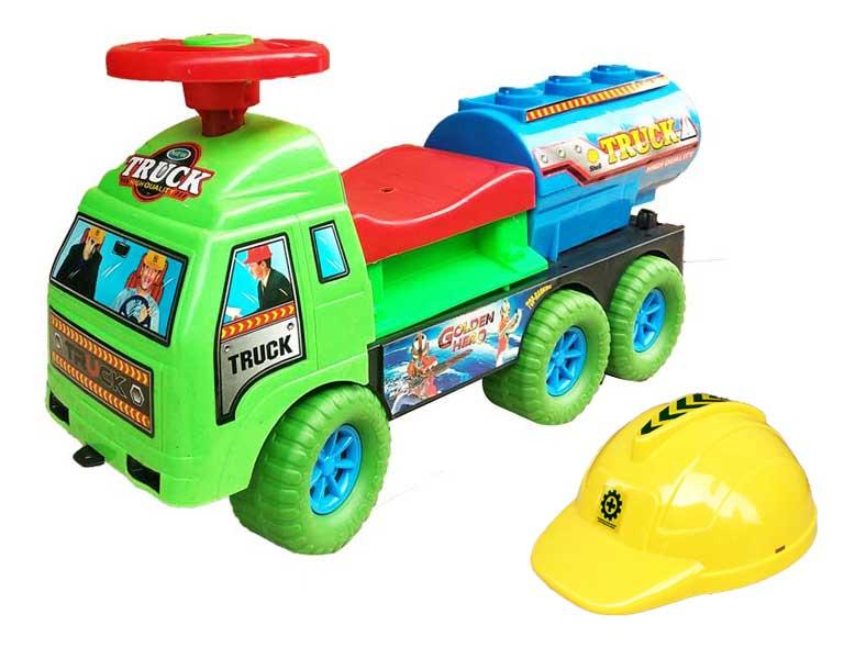 toko mainan online RIDE ON TRUCK TANGKI - HT-38
