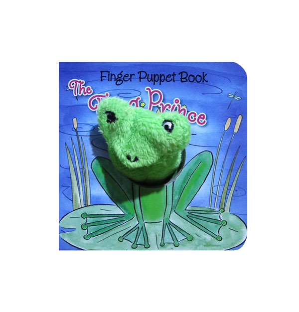 toko mainan online The Frog Prince - Fairy Tale Finger Puppet