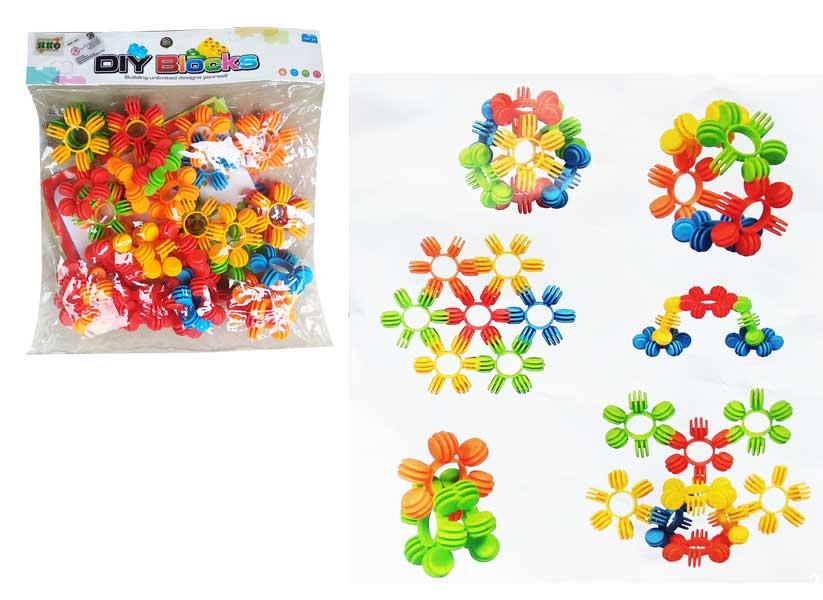 toko mainan online DIY BLOCKS BUNGA - HC-012