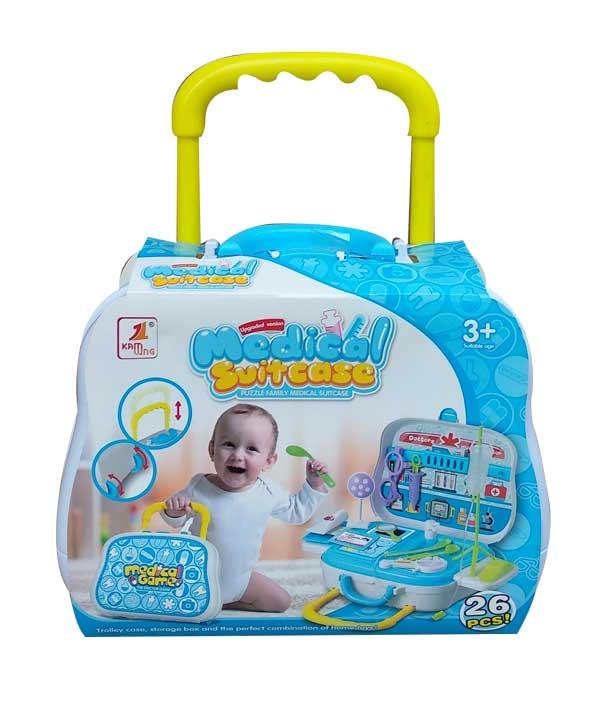 toko mainan online MEDICAL SUITCASE 26PCS - 528F-2