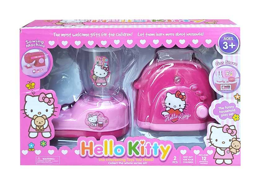 toko mainan online HELLO KITTY BLENDER + PEMANGGANG ROTI - YY-213-4