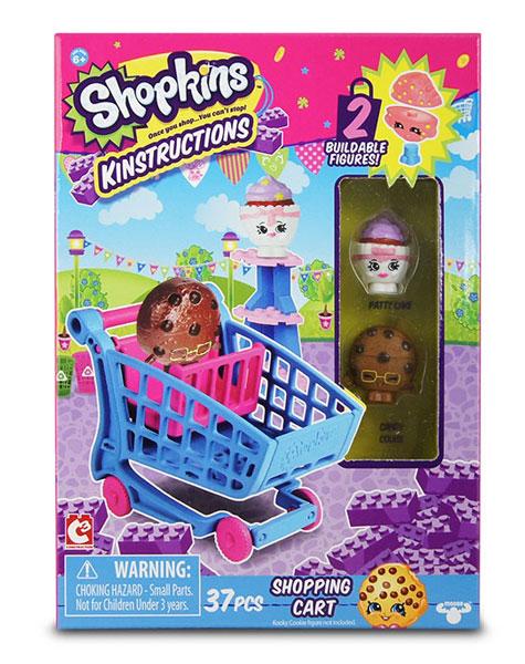 toko mainan online SHOPKINS KINSTRUCTIONS SHOPPING CART - 37330