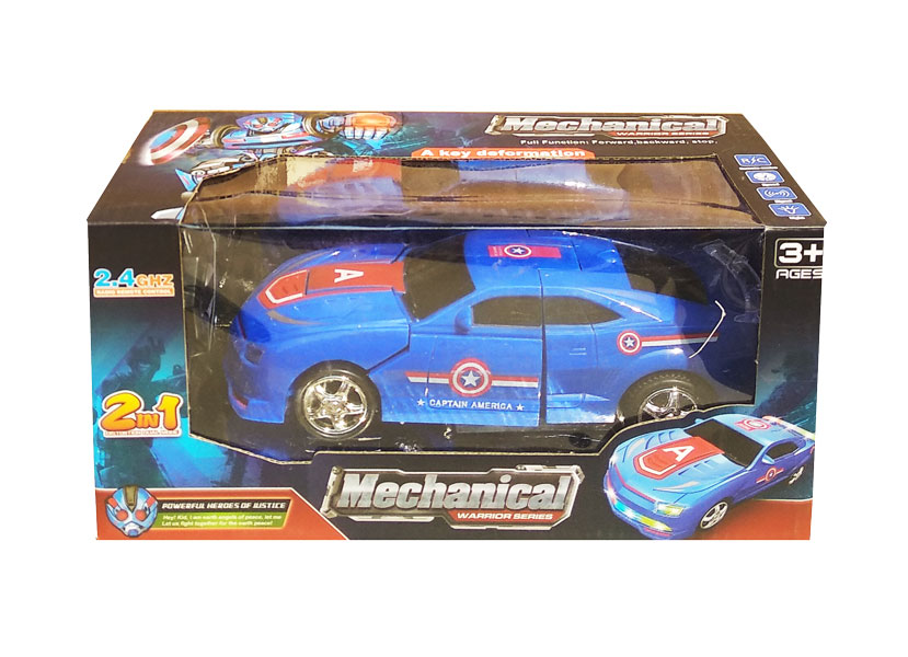 toko mainan online RC  MECHANICAL WARRIOR 2IN1 - JS004