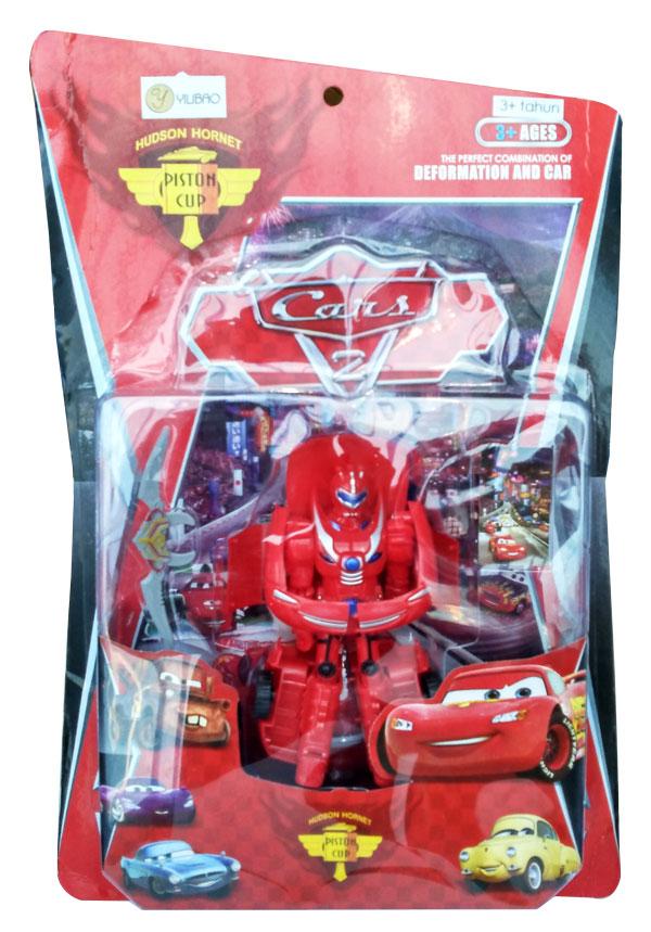 toko mainan online DEFORMATION AND CAR (MERAH) - 969-A1