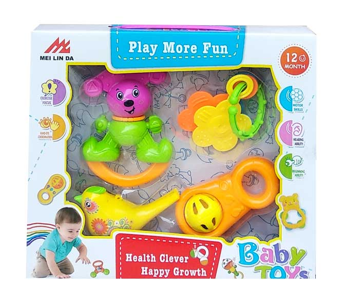 toko mainan online RATTLE BABY TOYS - D604