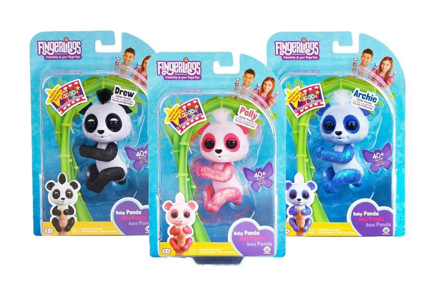 toko mainan online FINGERLINGS BABY PANDA - 3560