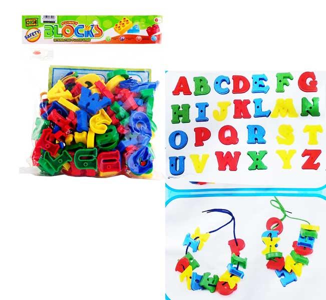 toko mainan online FUNNY BLOCKS HURUF HC-068