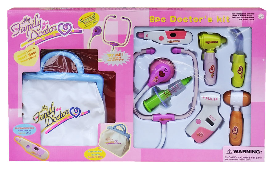 toko mainan online TAS DOKTER DUS PINK (MODEL A/ LAMA) - 9921