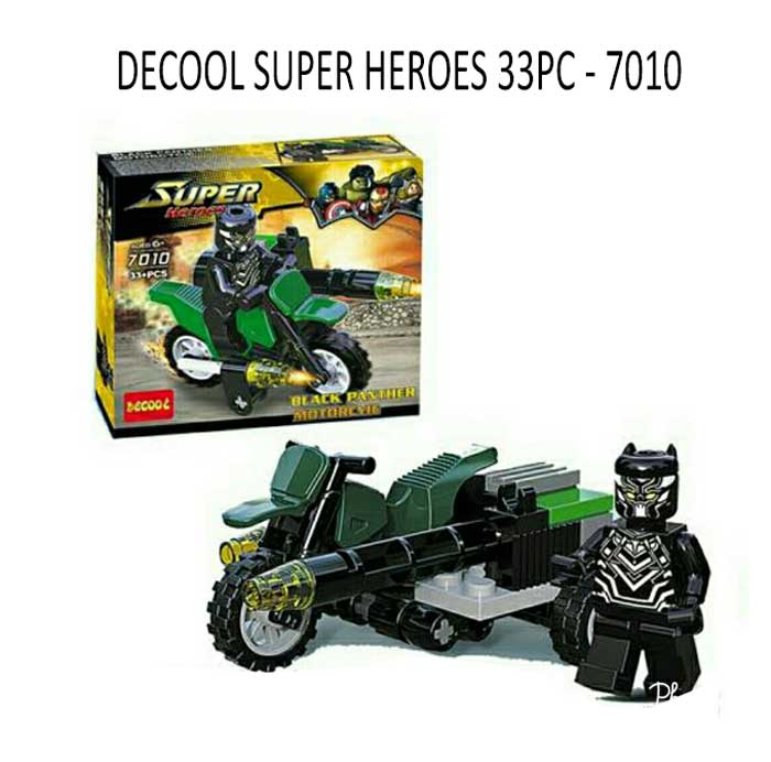 toko mainan online DECOOL SUPER HEROES 33PC - 7010