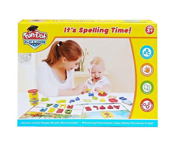 toko mainan online FUN DOH ITS SPELLING TIME - 28143