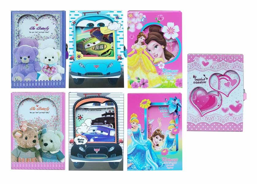 toko mainan online BUKU DIARY MIX KARAKTER - 32K-YS04