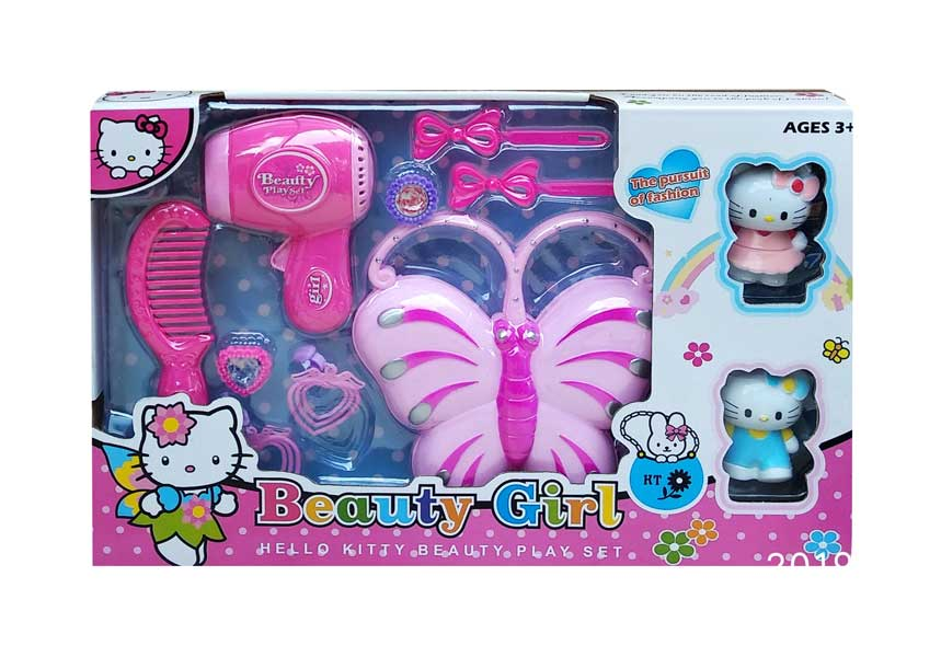 toko mainan online BEAUTY GIRL HELLO KITTY (KUPU)- 0808-1