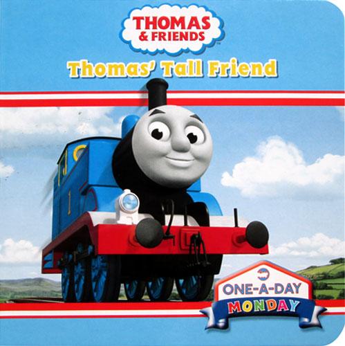 toko mainan online Thomas & Friends Thomas Tall Friends Board Book