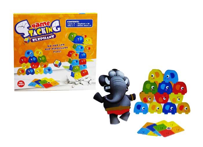 toko mainan online GAME STACKING ELEPHANT - XS977-33