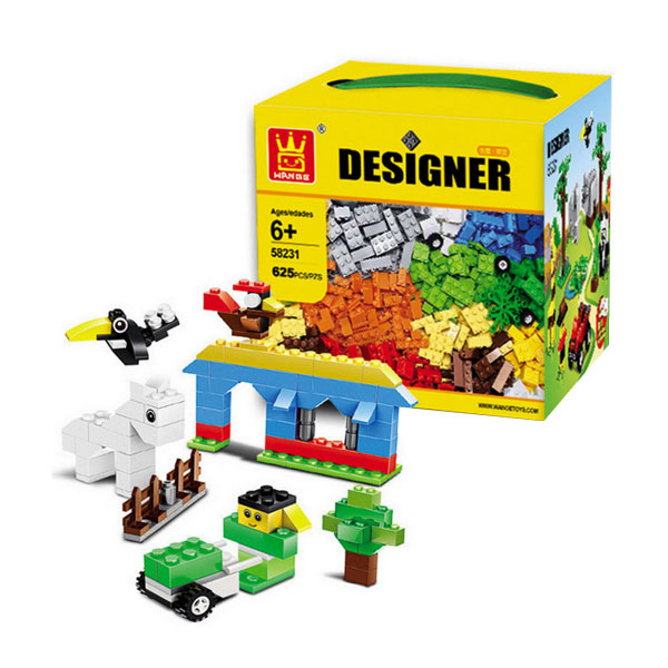toko mainan online WANGE DESIGNER 625PC - 58231