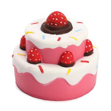 toko mainan online SQUISHY CAKE STRAWBERRY - LC242