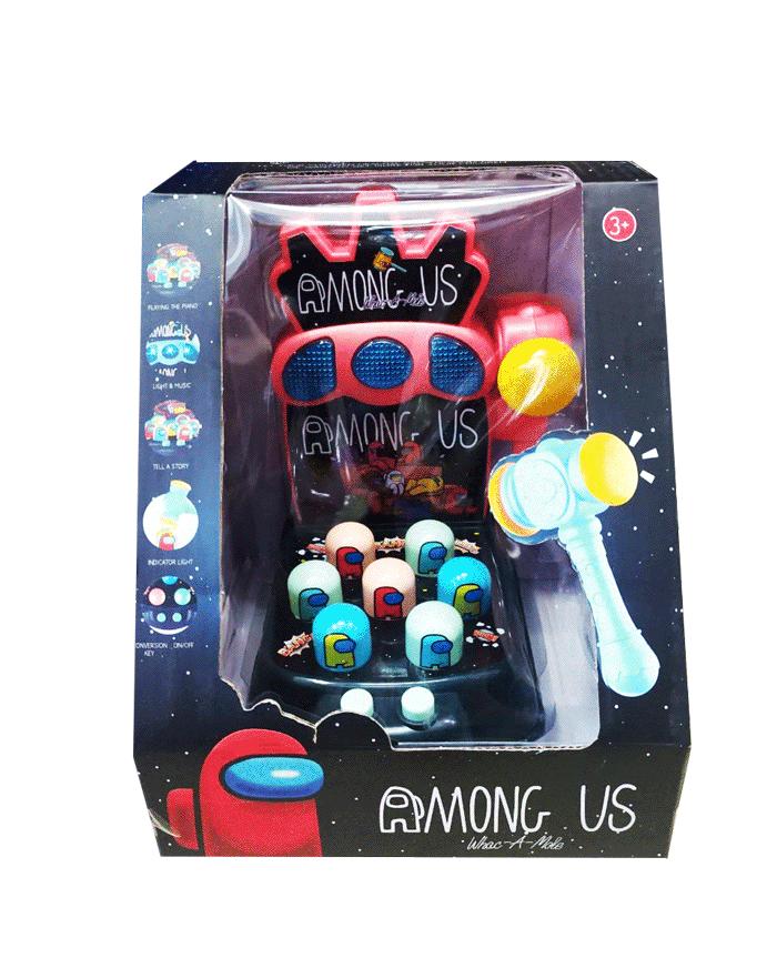 toko mainan online WHACK A MOLE AMONG US - 5111A