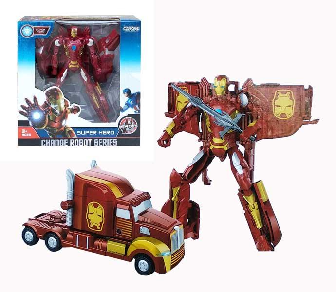 toko mainan online CHANGE ROBOT IRON MAN - 39-11