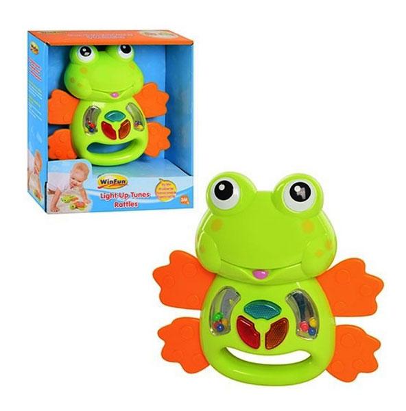 toko mainan online LIGHT UP TUNES RATTLES - 0605