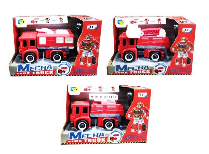 toko mainan online MECHA FIRE TRUCK - D622-H133