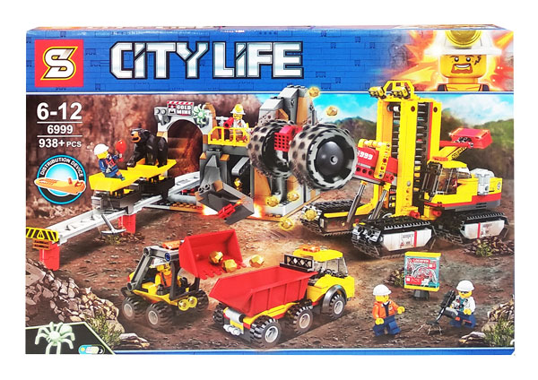 toko mainan online BLOCKS CITY LIFE 938PCS - SD6999