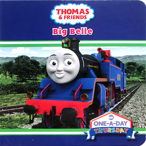 toko mainan online THOMAS & FRIENDS BIG BELLE BOARD BOOK