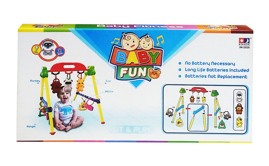 toko mainan online SIT AND PLAY BABY FITNESS MUSICAL PLAYGYM - 2026