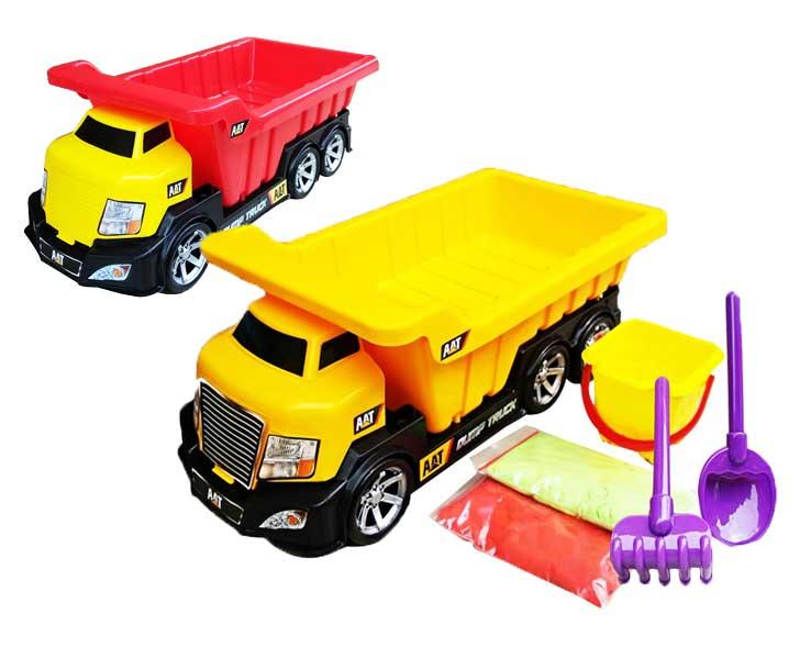 toko mainan online MAGIC SAND DUMP TRUCK (PASIR) - 79004