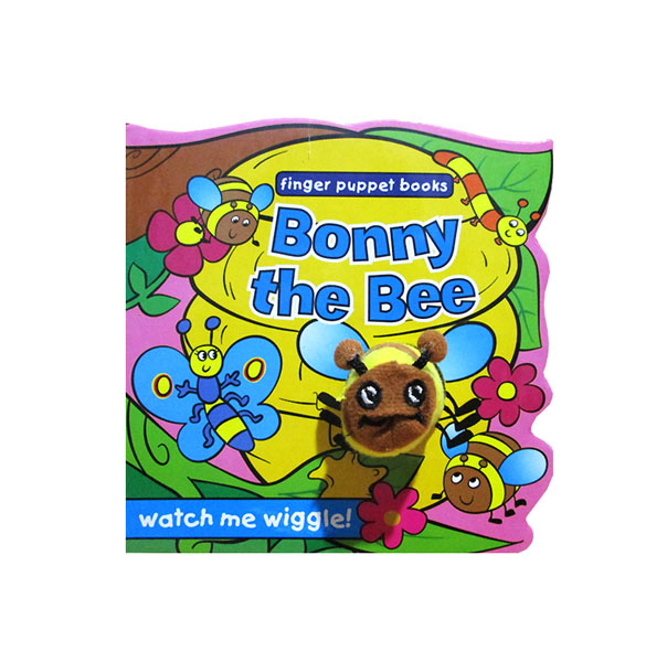 toko mainan online Bonny the Bee - Wiggly Finger Puppet