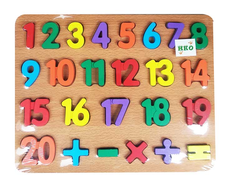 toko mainan online PUZZLE TIMBUL ANGKA - YT-3671