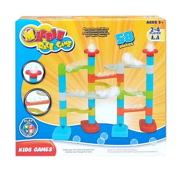 toko mainan online MARBLE RACE GAME - 8203