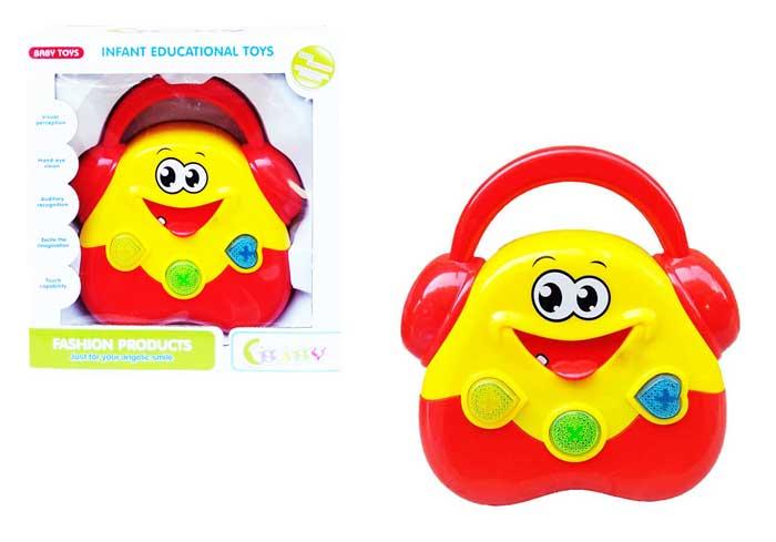 toko mainan online LOVELY HAND CLAP DRUM - 618B-1
