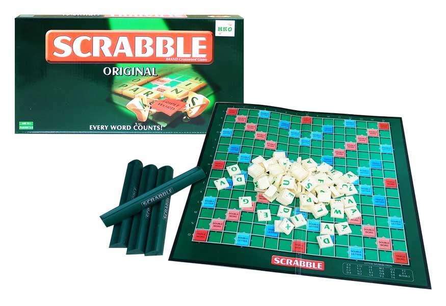 toko mainan online SCRABBLE ORIGINAL - 55110