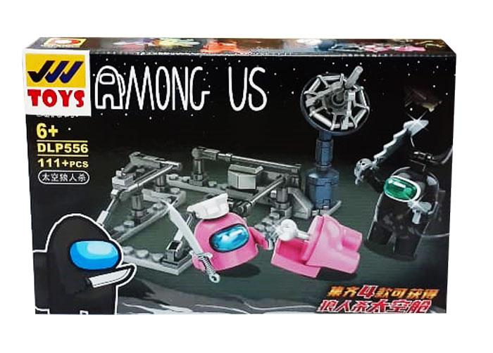 toko mainan online BLOCK AMONG US 111PC - DLP556-2