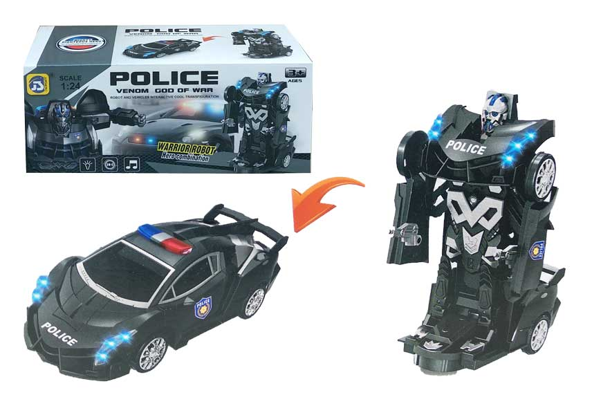 toko mainan online POLICE TRANSFORM - S-8997