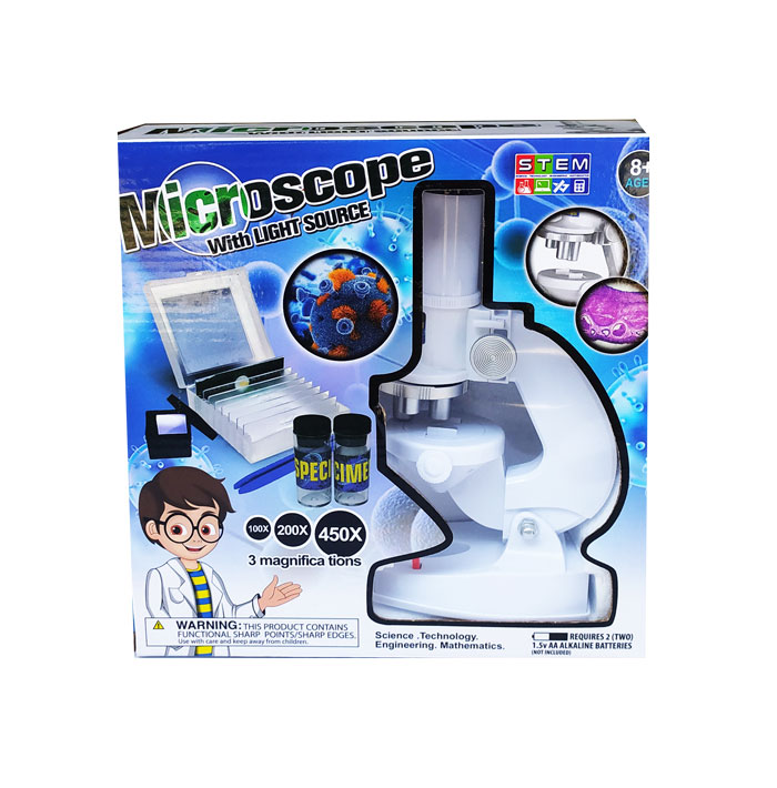 toko mainan online MICROSCOPE WITH LIGHT SOURCE - 1061