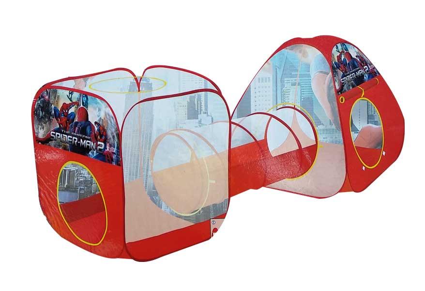 toko mainan online TENDA TEROWONGAN SPIDERMAN - 345A-17