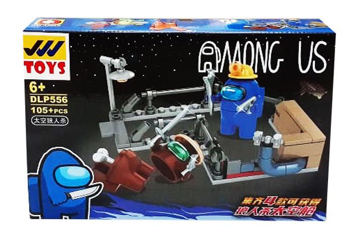 toko mainan online BLOCK AMONG US 105PC - DLP556-4